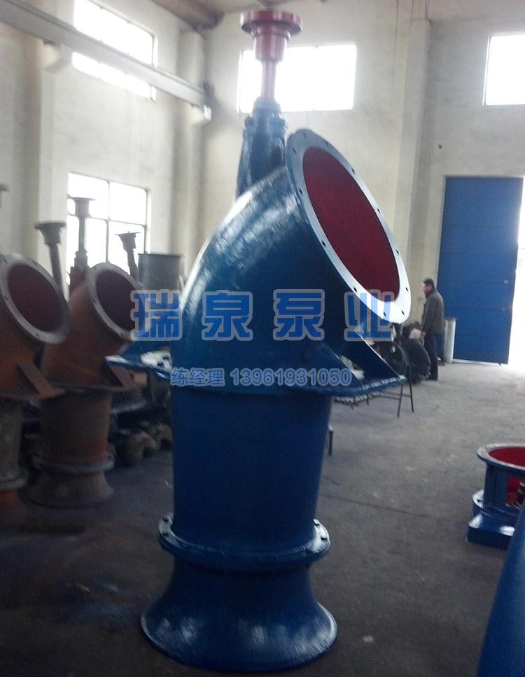 800ZLB-125立式轴流泵 轴流泵厂家 大流量使用简单 适用于农田